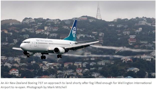 新西兰航空公司被评为全球年度最佳航空公司