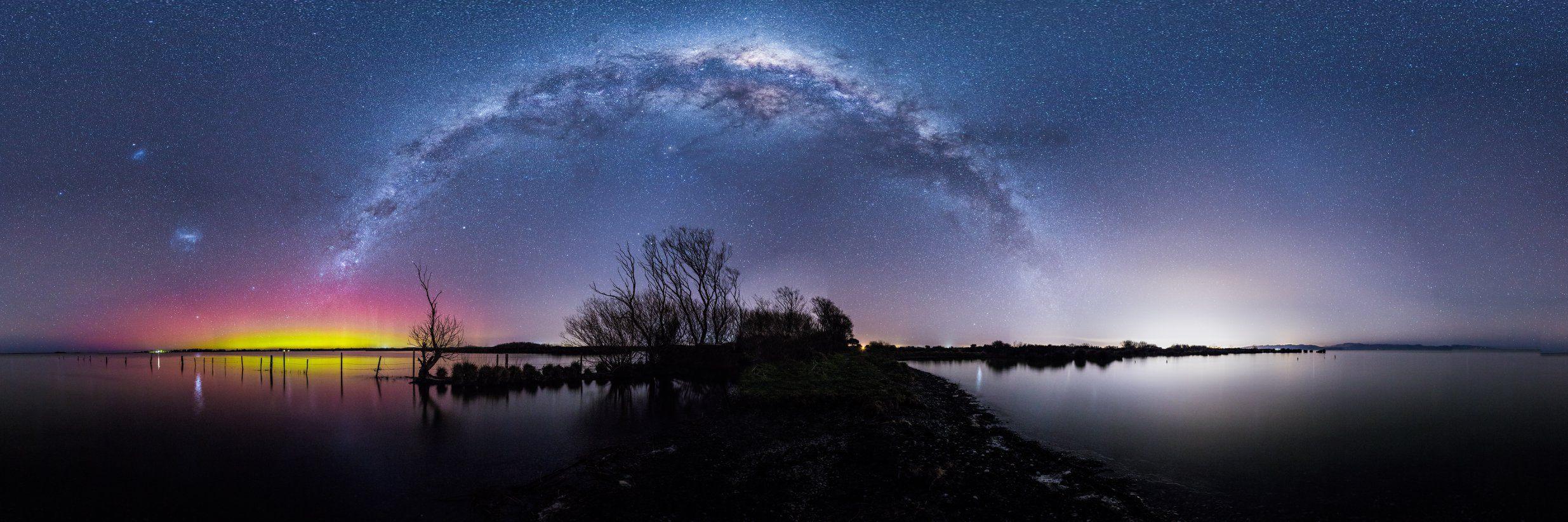 世界上最美丽的风景夜空
