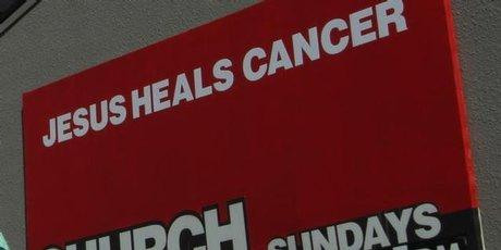 耶稣治愈癌症遭投诉 广告标准委员会对投诉表支持