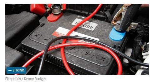 欲修车却弄混电池正负极