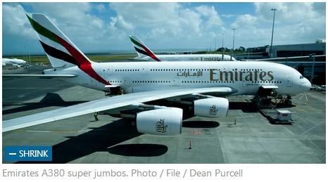 阿航a380客机起飞后引擎故障