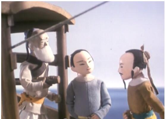 比如木偶动画片《镜花缘》
