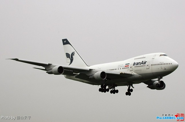 2004年,伊朗航空公司ir800航班在执行北京飞往东京的任务中使用的是