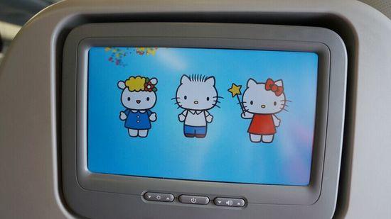 在台湾坐飞机的话,你想试试hellokitty航班吗?